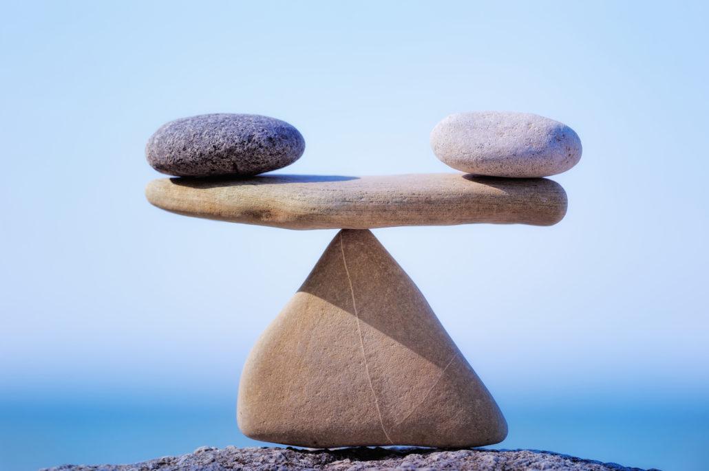 Balance Ruhe Ausgleich